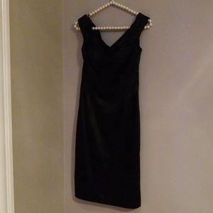 White House Black Market  size 00 Black Dress